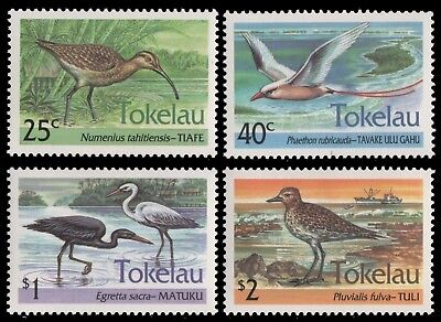 Tokelau 1993 - Mi-Nr. 196-199 ** - MNH - Vögel / Birds