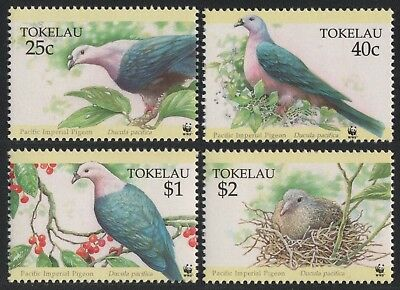 Tokelau 1995 - Mi-Nr. 210-213 ** - MNH - Vögel / Birds