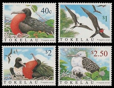 Tokelau 2004 - Mi-Nr. 348-351 ** - MNH - Vögel / Birds
