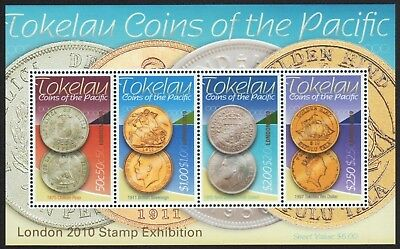 Tokelau 2010 - Mi-Nr. Block 44 ** - MNH - Münzen / Coins - London