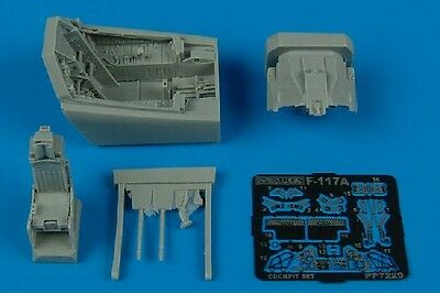 AIRES 7229 Cockpit Set for Academy Kit F-117A Nighthawk in 1:72