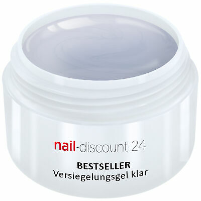 UV-Gel Versiegelungsgel klar 5ml Finish High Gloss Versiegler Hochglanz Nail Art