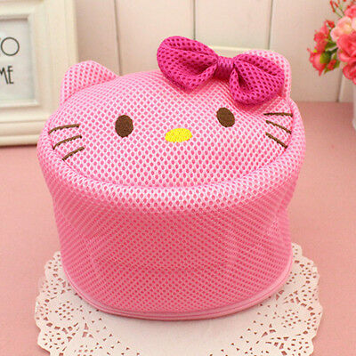 HelloKitty Zipped Laundry Washing Bags Laundry Net Mesh Socks Bra Underwear AR98
