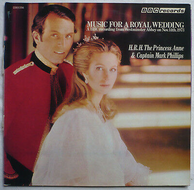 MUSIC FOR A ROYAL WEDDING - LP > Heirat Prinzessin Anne + Capt. Mark Phillips