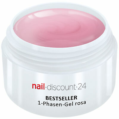 UV-Gel 1-Phasen-Gel rosa 30ml 3-in-1 Allround Versiegler Aufbau Grundierung Haft
