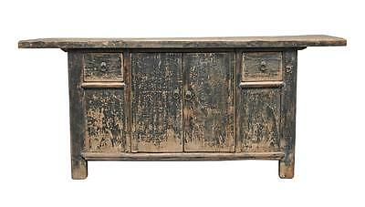 19Th Century Rustic Chinese Hardwood Dresser Base