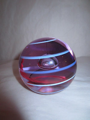 Caithness Scotland *GYRO* Art Glass Paperweight Limited Edition 185/750