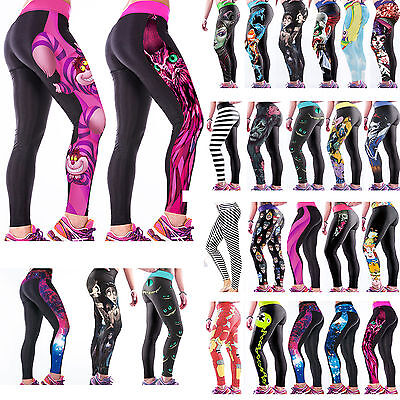 Women Yoga Pants Leggings Sport StretchY Fitness Skinny Trousers Workout Running