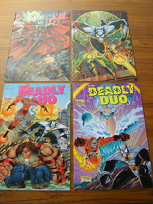 Deadly Duo #1 - 4 Set (Image) 1995 (Spawn)