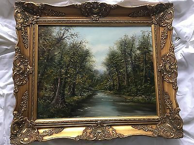 Peter Snell Original Landscape Oil Painting On Canvas