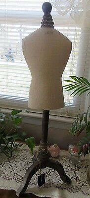 """New in Box Small Manakin for Jewelry Display with Wooden Base Stand 28"""" Tall"""
