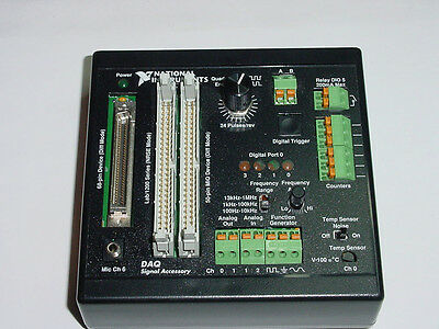 National Instruments DAQ SIGNAL ACCESSORY TEST BOX SIMULATOR 183684C-01