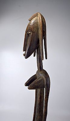 A Large Vintage Bamana Female sculpture, African Tribal Art
