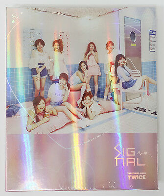 TWICE - SIGNAL (4th Mini Album) [B ver.] CD+Pre-order Benefits+Poster+Free Gift