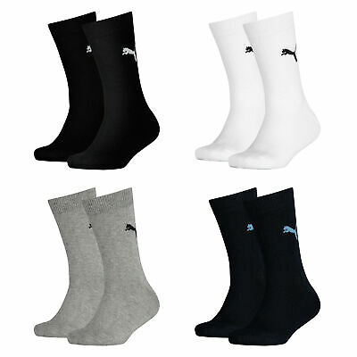 Puma CLASSIC SOCK Kinder Socken Junior Sport Socks Kids Strümpfe 2er 4er 6er 8er