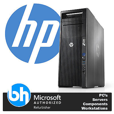 HP Z620 Intel Xeon Eight Octa Core E5-2650 48GB RAM Workstation PC Barebones