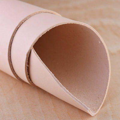 1x Premium Natural Vegetable Tanned Cowhide Leather 1/1.5/2mm Thick Various Size