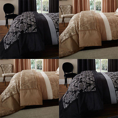 Catherine Lansfield Home Glamour Jacquard Faux Silk Quilted Bedspread, 220x230Cm