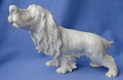 "Righetto Cacciapuoti English Setter Springer Spaniel Cartoon Dog 9"" Italy"