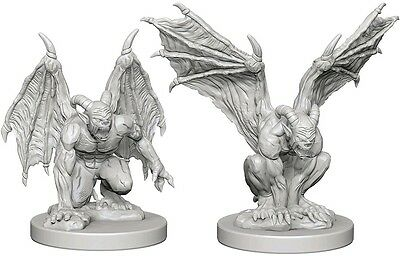Gargoyles - Dungeons & Dragons Pathfinder Primed Unpainted 25Mm Miniatures