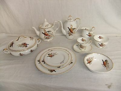 C4 Porcelain Staffordshire finest bone China Sheriden 8A3D