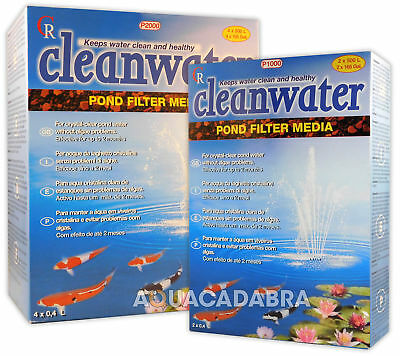 Cleanwater Pond Filter Media P1000 P2000 Crystal Clear Pond Water Koi Fish Tank