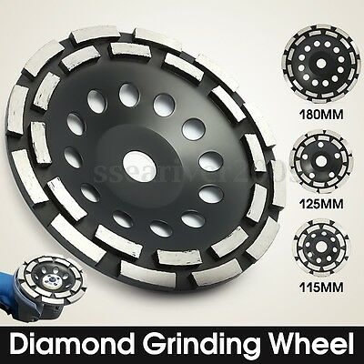 115/125/180mm Diamond Grinding Wheel Concrete Cup Disc Rotary Masonry Stone Tool