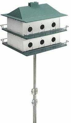 New Purple Martin Bird House Heath Ph-12 12 Apartment Large House New In Box