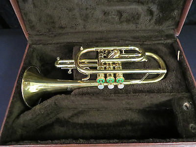 Getzen Bb Cornet, Brand New Raw brass bell and leadpipe, Excellent