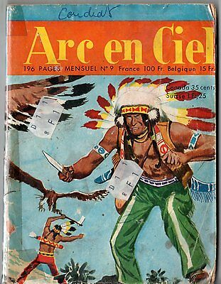~+~ ARC EN CIEL n°9 ~+~ 1958 EDITIONS DE L'OCCIDENT