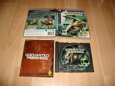 Uncharted 1 El Tesoro De Drake Para La Sony Ps3 Version Original Usado Completo