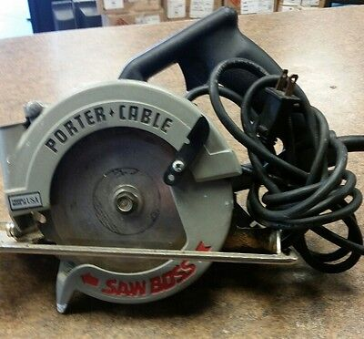 porter cable 345 saw boss