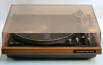 Vintage DUAL 721 Electronic Direct Drive Turntable w/ Shure M110HE Cartridge