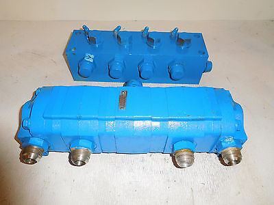 Viking GPV-0711-26 Hydraulic Flow Divider Valve 4 Sections 100 Gpm 3000 Psi