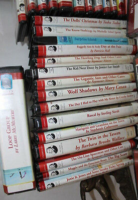 Lot of (38) Audio Books on Cassette~Majority Childrens, but there is a mix