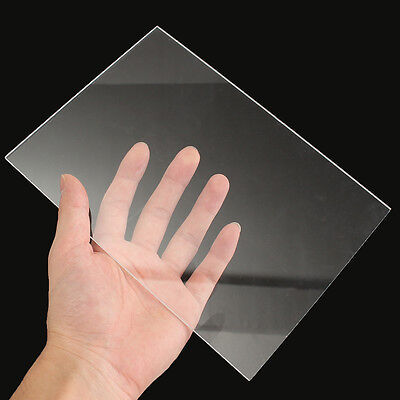 5mm A5 Size Clear Plastic Acrylic Plexiglass Perspex Sheet 148x210mm