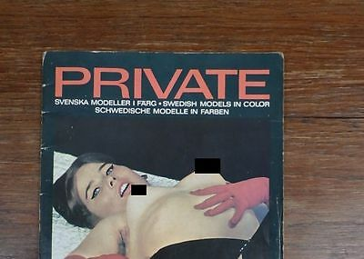 Genre LUI & PLAYBOY : Revue Magazine PRIVATE number 1 VERY RARE FIRST ISSUE 1968