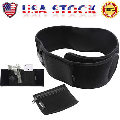 US Ultimate Carry Belly Band Holster For Police Bodyguard Concealed Self-defense