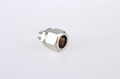13mm 1/4PT Male Thread 16mm Dia Pipe Air Pneumatic Quick Coupler Connector 10pcs