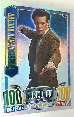 DOCTOR WHO  alien attax RAINBOW FOIL  Card Set  of 16 Topps UK