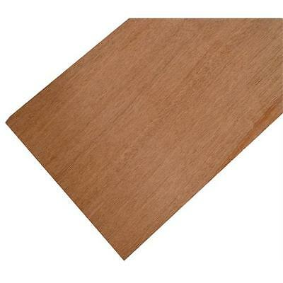 250mm Wide Mahogany Panel 500 x 250 x 1.5mm Solid Wood Panel