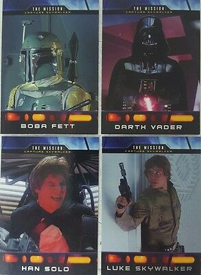 STAR WARS ILLUSTRATED EMPIRE STRIKES BACK  Trading Card  SUB SET of 10 MISSION