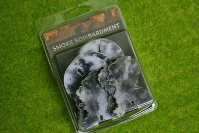 SMOKE BOMBARDMENT Markers Flames of War AT006