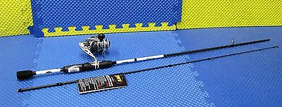 Lew's Laser Speed Spin IM6 Graphite Spinning Combo 7' Rod Medium LSG4070M-2