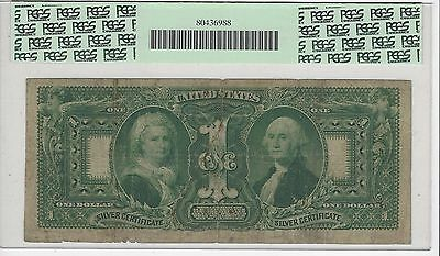 **1896**USA Silver Certificate $1 PCGS F-12; SN# 81632
