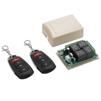 433Mhz Garage Doors Wireless Remote Control Switch 2Transceiver + Receiver LD942