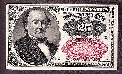 US 25c Fractional Currency 5th Issue Pos I 6 FR 1309 Ch CU