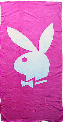 Playboy Towel Classic Hot Pink