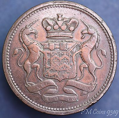 1812 Success to the Cornish Mines one penny token coin *[9319]