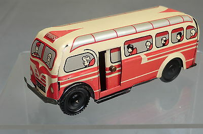 WELLS BRIMTOY POCKETOY'S MODEL No.518 FRICTION DRIVEN TOURING COACH